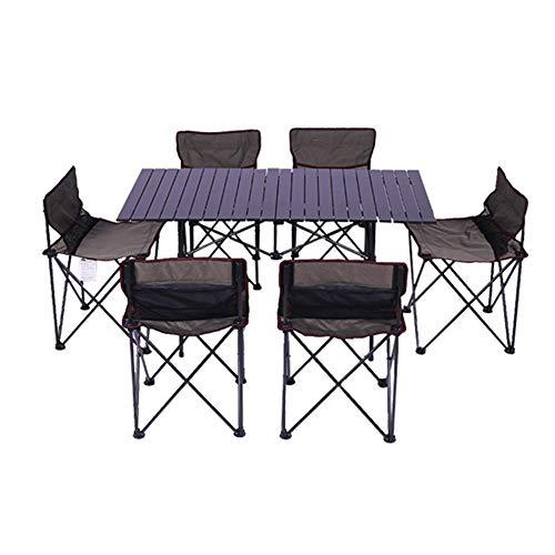Wulihong-tavolo campeggio tavolo pieghevole da esterno sedia dacampeggio tavolo da picnic in lega di alluminio tavolo impermeabile resistente ultraleggero tavolo pieghevole per