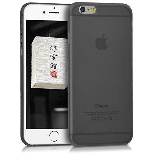 kwmobile Slimcase Hülle für Apple iPhone 6 / 6S - schmale Schutzhülle Cover in Rot .Schwarz