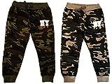 Unbekannt 2er Pack Jungen Jogginghosen Camouflage Größen 98-164 (98-104)