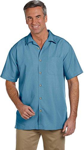Harriton -  Camicia Casual  - Uomo Cloud Blue
