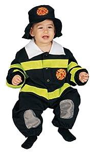 Dress Up America - Disfraz de bombero para bebés, talla 9-12 meses (297-9-12)