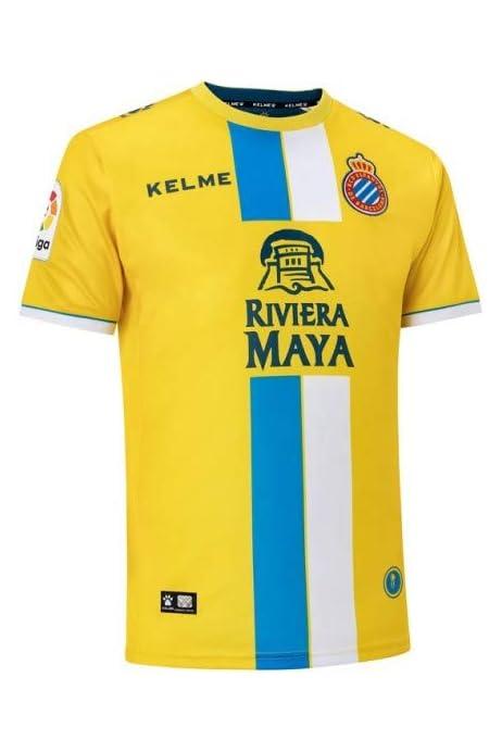 KELME - Camiseta 3ª Equipacion 18/19 R.c.d Espanyol: Amazon.es ...