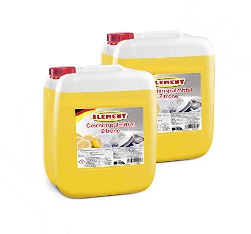 Geschirrspülmittel Konzentrat Spülmittel Handspülmittel Zitrone 20 Liter Geschirrreiniger Geschirr Reiniger Kanister