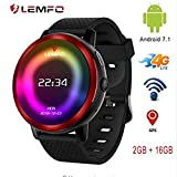 Best Orologi LEMFO Android - LEMFO LEM8 - Android 7.1.1 4G orologio intelligente Review