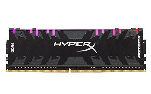 HyperX Predator HX432C16PB3A/8 - Memoria RAM (DDR4 8GB, 3200MHz CL16 DIMM XMP RGB)