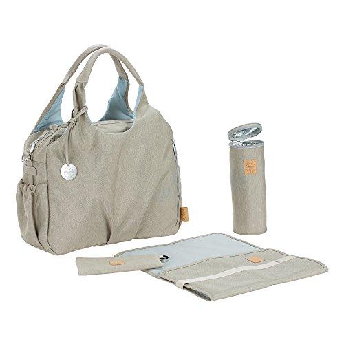 Lässig 1101003303 Wickeltasche Green Label Global Bag Ecoya, sand/beige - 3