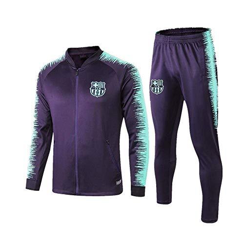 BoFlision Sportbekleidung Herren Jacken und Hosen Fußball Trainingsanzüge Sportbekleidung Anzüge Royal Blue, A, S