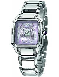 Roberto Cavalli Ladies Venom Analogue Watch R7253192535 with Quartz Movement, Stainless Steel Bracelet and Pink Dial