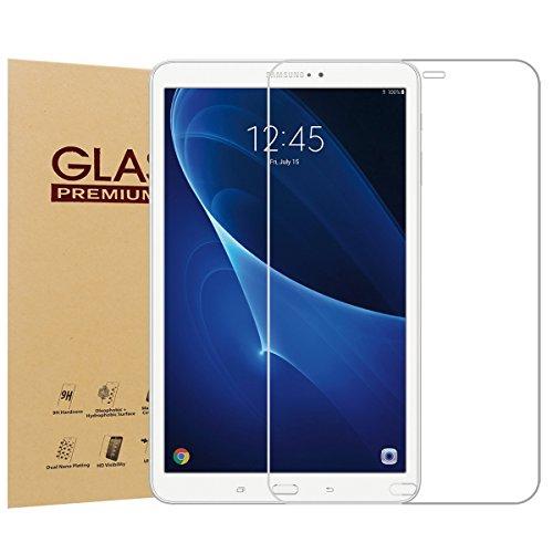 Schutzfolie für Samsung Galaxy Tab A 10.1 Zoll Tablette, BelleStyle 9H Härte 0,33mm Full Coverage Ultra HD Anti-Kratzen für Samsung Tab A 10.1 (SM-T580 / SM-T585) Tablet 2016 Veröffentlichung