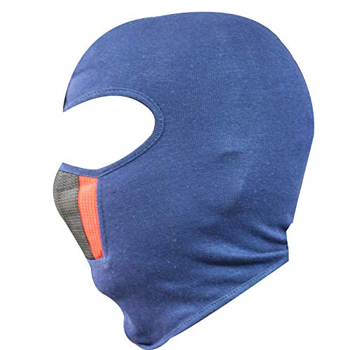 SPENCA Black Free Size Full Face Dust Proof Mask for Bike Cycle Balaclava for Men & Women(1 Piece)_Brown_Cotton