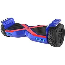 M MEGAWHEELS Scooters Eléctricos de Auto-Equilibrio, Patinete Monopatin Electrico Skateboard Motor de 6.5
