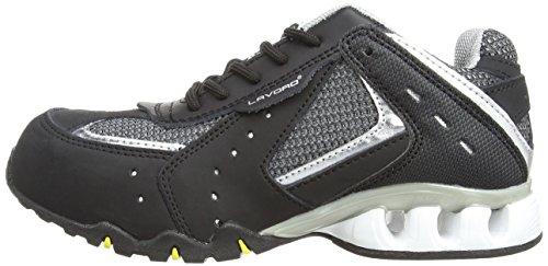 Negro De Plata negro Plata 44 Tenían Mujeres Zapatos Humanos Seguridad Plata Lavoro negro 7EWqYW