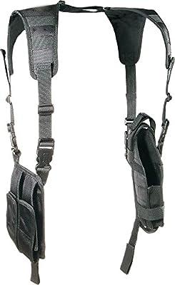 UTG PVC-H175B - Pistolera de hombro vertical