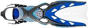 Mares X-Stream Geräteflossen (blau, XS (34-37))