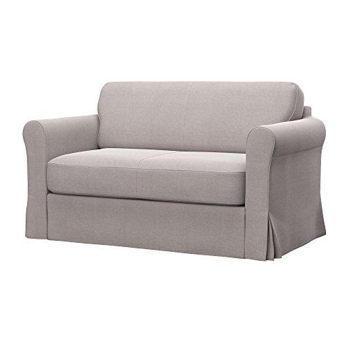 Soferia - IKEA HAGALUND Funda para sofá Cama, Elegance Beige