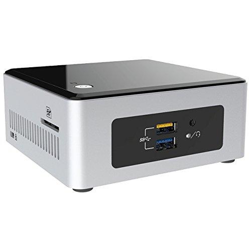 Mini PC Intel NUC 5CPYH (Intel N3050 bis zu 2X 2,16GHz, 4GB RAM, 120GB S-ATA SSD, HDMI, USB 3.0, WLAN, Infrarot, Cardreader, 7.1 onBoard, Windows 10 Pro) #10001 (Ssd 120gb Intel)
