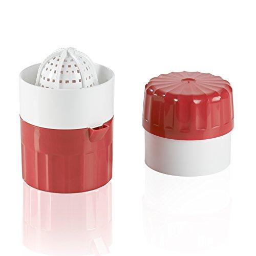 Börner Saftpresse rot, Zitruspresse, Saft Presse, Squeezer, Handpresse, Limettenpresse