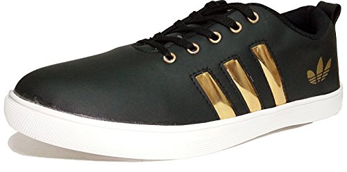 Red Rose Men's Black Casual Shoes (8, Black)  available at amazon for Rs.149