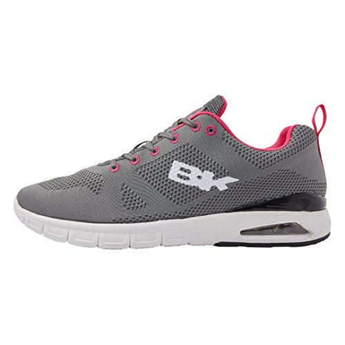 British Knights Energy Donne Bassa Sneakers Grigio/Fucsia