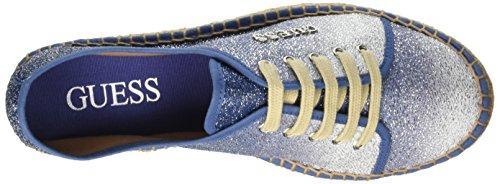 Guess Glitter Fabric, Baskets Hautes Femme Bleu - bleu