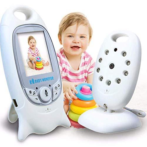 Baby Monitor Portable Display Zwei-Wege-Sprachintercom-Einbau 8 Lullaby Without Interference Temperature Monitoring Application Range 15-200 Meters