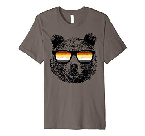 Gay Bär mit Sonnenbrille TShirt (Bär Damen T-shirt)