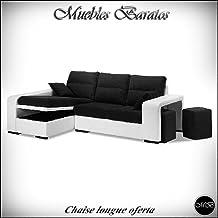 Sofas chaise longue para salon sofa chaiselongue cheslong comedor + cojin ref-07