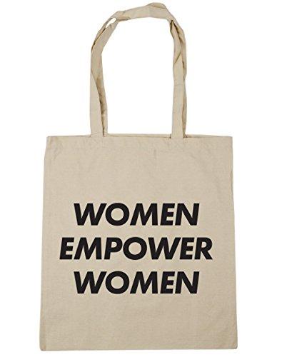 HippoWarehouse Women Empower Women Tote Shopping Gym Beach Bag 42cm x38cm, 10 litres