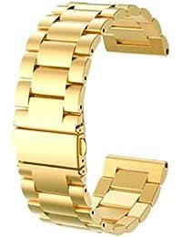 2884fd87882a Amazon.es  Dorado - Correas   Accesorios  Relojes