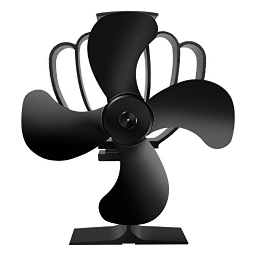 Finether Eco Stove Fan Heat Powered for Wood