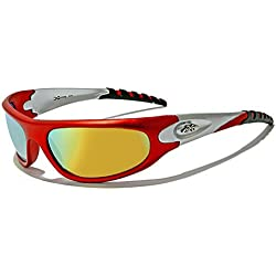 Unisex UV400 X-Loop Cycling Sunglasses (UVA and UVB)