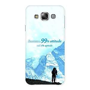 Special Attitude Success Back Case Cover for Galaxy E7
