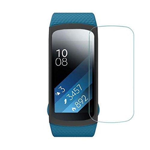 Colorful Samsung Gear Fit 2 SM-R360 Schutzfolie, 5 pcs HD Film Intelligenter LCD Bildschirmschutzfolie für Samsung Gear Fit 2 SM-R360