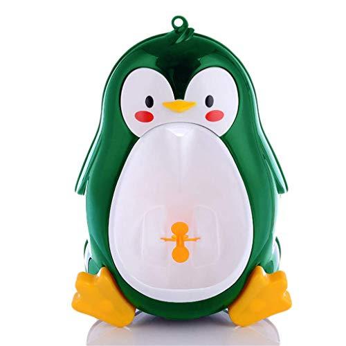 SZPDD Kinder WC Pinguin Toilette für Kinder Urinal,Green,22x19.5x37cm (Pinguin-toiletten)