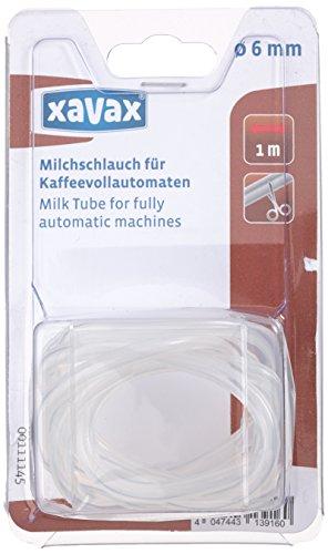 Xavax 00111145 - Tubo vaporizador de leche para cafeteras automáticas, diámetro de 6 milímetros