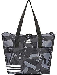 adidas DU2356, Shopper para Mujer, Multicolor Negro/Blanco, 34x39x18 cm (W