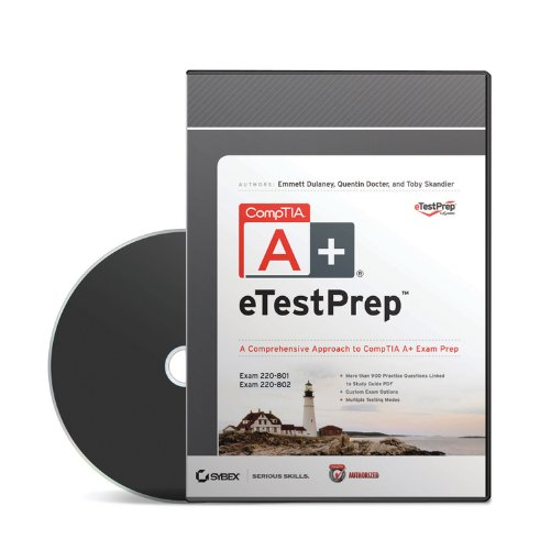 CompTIA A+ ETestPrep Authorized Courseware: Exams 220-801 and 220-802 por Quentin Docter
