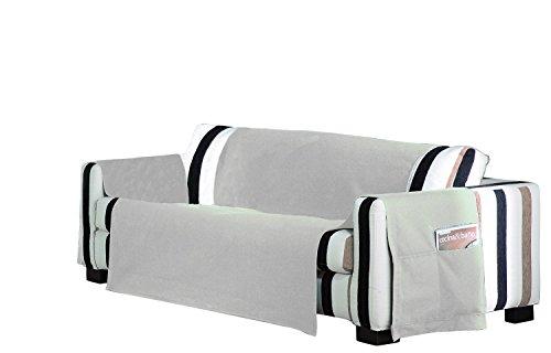 Eysa 3 posti practica - copridivano non elastico, in policotone, colore: grigio