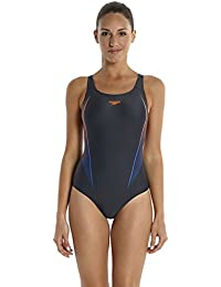 Speedo Damen Badeanzug Digiprism Powerback mit Digitalprint