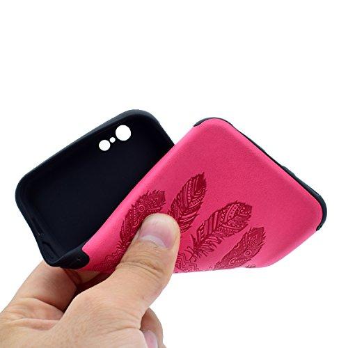 HLZDH Etui Coque TPU Slim Bumper pour Apple iPhone 6/6S Souple Housse de Protection Flexible Soft Case Cas Couverture Anti Choc Haute Qualité Mince Légère Transparente Silicone Cover pour iPhone 6/6S( image-4
