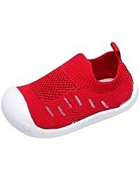 Moneycom Toddler - Zapatos de Correr para niños y niñas, Color Antideslizante, para Exteriores