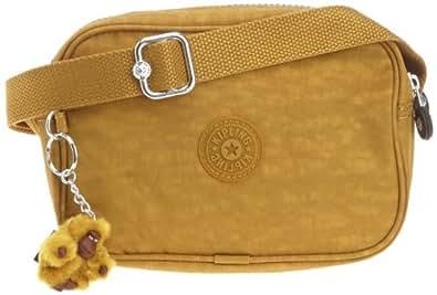 Kipling Women's DEE Shoulder Bag  Yellow Gelb (Blaze Yellow) Size: 21x14x8 cm (B x H x T)