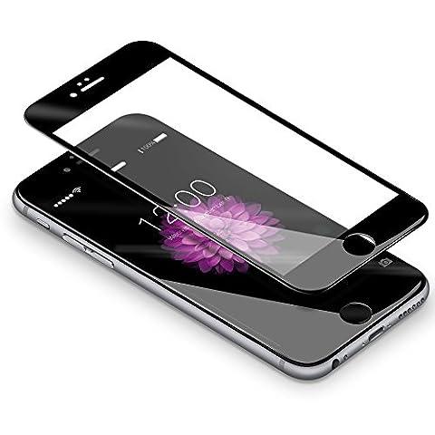 Verre Trempé iPhone 6 plus / 6s plus,Coolreall® 3D Integralé Film Protection écran en Verre Trempe pour iPhone 6 plus / 6s plus,0.33mm Ultra HD Film Protecteur Vitre,Dureté 9H,5.5
