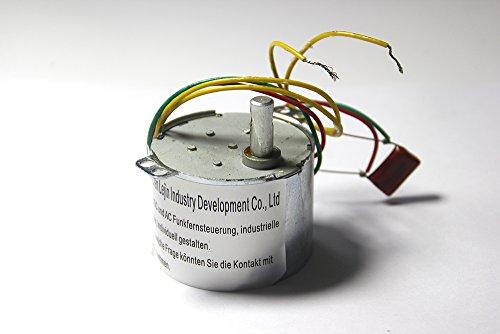 Lejin 1rpm 28kg.cm 6W 220-240V 50 / 60HZ AC Synchrongetriebemotor CW / CCW reversible Monitor Plattform lange Lebensdauer Getriebemotor Permanentmagnet Synchronmotor Ventilmotor Monitor PTZ - 1 Geschwindigkeit Motor