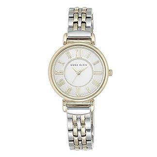 Anne Klein Reloj Analógico para Mujer de Cuarzo con Correa en Acero Inoxidable AK/N2159SVTT