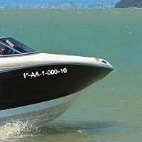 Oracal Matrícula Personalizada para Barcos