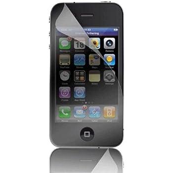 Apple Film de protection d'écran + chiffon pour iPhone 4 Transparent