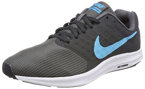 Nike Men's Grey Downshifter 7 Running Shoes (10-UK)
