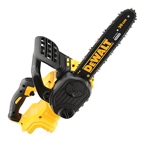Dewalt DCM565N Cordless XR Brushless Chain Saw, 18 V, Yellow, 30 cm
