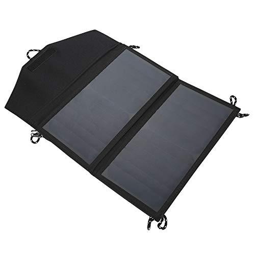 Descripción: Este cargador solar portátil está diseñado para un excelente rendimiento y portabilidad, que lo convierten en una solución perfecta para todo tipo de actividades al aire libre necesidades de energía portátil. Ligero y portátil, adecuado ...
